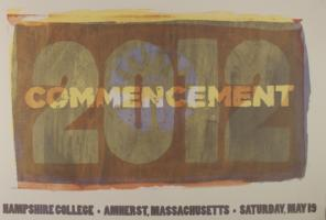 Hampshire College Commencement Poster - May 2012