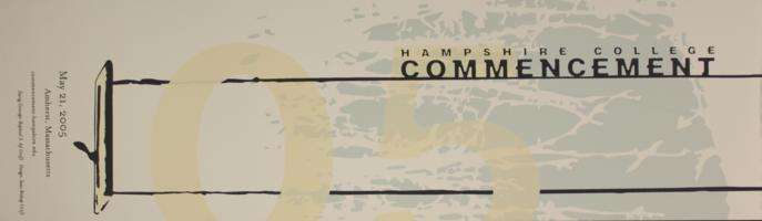 Hampshire College Commencement Poster - May 2005