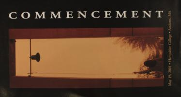 Hampshire College Commencement Poster - May 2001