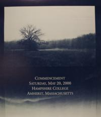 Hampshire College Commencement Poster - May 2000