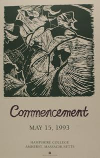 Hampshire College Commencement Poster - May 1993