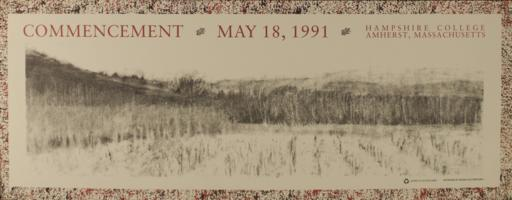 Hampshire College Commencement Poster - May 1991