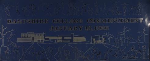 Hampshire College Commencement Poster- January 1986