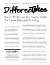 Science, Politics, and Reproductive Rights: The Case of Ultrasound Technology
