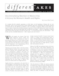 Decriminalizing Abortion in Mexico City: A Victory for Women's Health and Rights