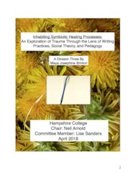 Inhabiting Symbiotic Healing Processes: An Exploration of Trauma Through Writing Practices, Social Theory, and Pedagogy