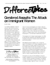 Gendered Assaults: The Attack on Immigrant Women