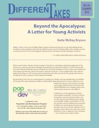 Beyond the Apocalypse: A Letter for Young Activists