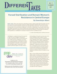Forced Sterilization and Romani Women's Resistance in Central Europe