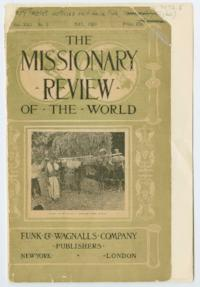 The Missionary Review of the World, Vol. XXII. No. 5, May 1909, excerpt about Fidelia Fiske, Class of 1842