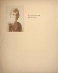 Mount Holyoke View Book, Mary Ashby Cheek, Dean of Residence
