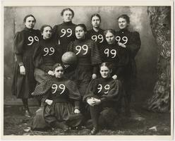 Mount Holyoke Class of 1899 Basketball Team