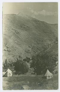 Mt. Cindian (Sindian) camping place, near Bitlis, Turkey, where Charlotte and Mary Ely and other missionaries spent summers
