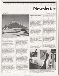 Mount Holyoke College Art Museum Newsletter; Spring 1989; Volume 12, Number 1