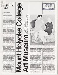 Mount Holyoke College Art Museum Newsletter; Spring 1982; Volume 5, Number 2