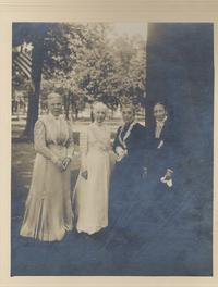 Luetle Bentley, Mary Evans, Anna C. Edwards, Lydia Sessions