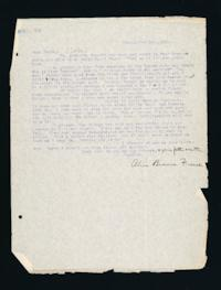 Letter to Helen B. Calder from Alice Browne Frame, Peking, China, Original February 1, 1918, Edited March 18, 1918