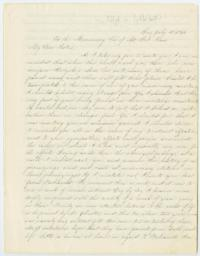 Letter from Fidelia Fiske '42, to the Missionary Society of Mount Holyoke Seminary