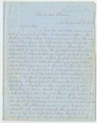 Journal of letters from Fidelia Fiske '42 and Mary Susan Rice '46 to Mary C. Whitman