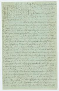 Letter from Fidelia Fiske '42 to Mary Lyon