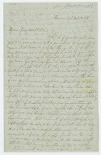 Letter from Fidelia Fiske '42 to Mary C. Whitman