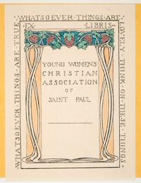 Ex Libris Young Women's Christian Association of Saint Paul, by Cleora Clark Wheeler
