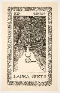 Ex Libris Laura Sikes, by Cleora Clark Wheeler