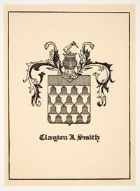 Family crest for Clayton J. Smith, by Cleora Clark Wheeler