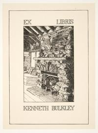 Ex Libris Kenneth Bulkley, by Cleora Clark Wheeler
