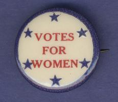Votes for Women' button