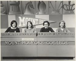 College Bowl Team, 1966