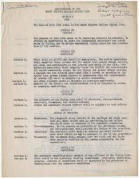 Press release from the Public Relations Department of Ziff-Davis Publishing Company to the Holyoke, Mass. Papers about the Northeastern Association of College Flying Clubs, of which Mount Holyoke was a member