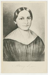Portrait of Mary Lyon