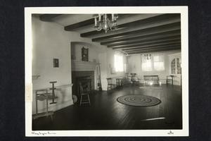Mary Lyon Room in Student Alumnae Hall (renamed Mary E. Woolley Hall in 1945)
