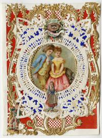 "Esther Howland Valentine card, ""Affection"" ca. 1870s"