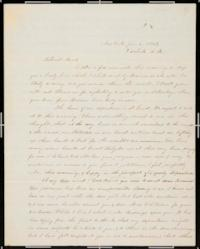 Letter from Lucy Lyon Lord '40 and Edward C. Lord to Mary Lyon, Lucy's aunt