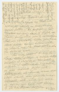 Letter from Mary A. C. Ely '61 to Miss Edwards (Anna Cheney Edwards '59), with biographical information about the Ely sisters; written in Bitlis, Turkey