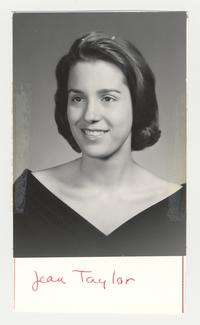 Jean E. Taylor, class of 1966