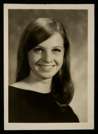 Marilyn J. Bruno, Class of 1969, as a senior
