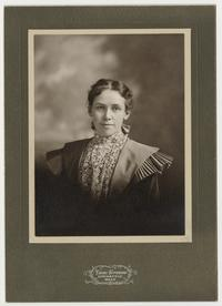 Portrait of Emily A. Babb, Class of 1898