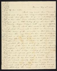 Letter from Elizabeth Cogswell to Abby Cogswell, May 14, 1828