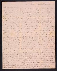 Letter from Elizabeth Cogswell to Abby Cogswell, March 1, 1832