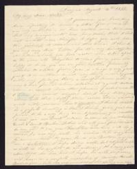 Letter from Elizabeth Cogswell to Abby Cogswell, August 13, 1833