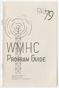 WMHC Program Guide, Fall '79