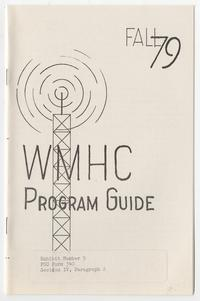 WMHC Program Guide, Fall '79