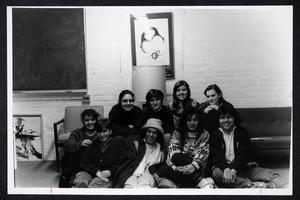 Members of La Unidad, including Guadalupe Mendiola, Anne Dix, Sarah Moruska, Diane Salazar Lowe, Rica Vargas, and Toni Ramirez