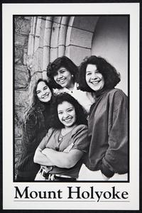 Four members of La Unidad: Diana, Marie, Lupe, and Rica