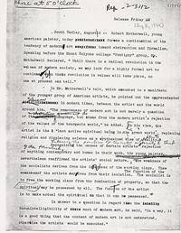Press Release August 11, 1944
