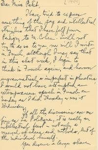 Beatrice F. Hyslop to Helen E. Patch ca. 1944