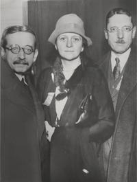 Frances Perkins, Max Meyer, and Maxwell Wheeler, 1931